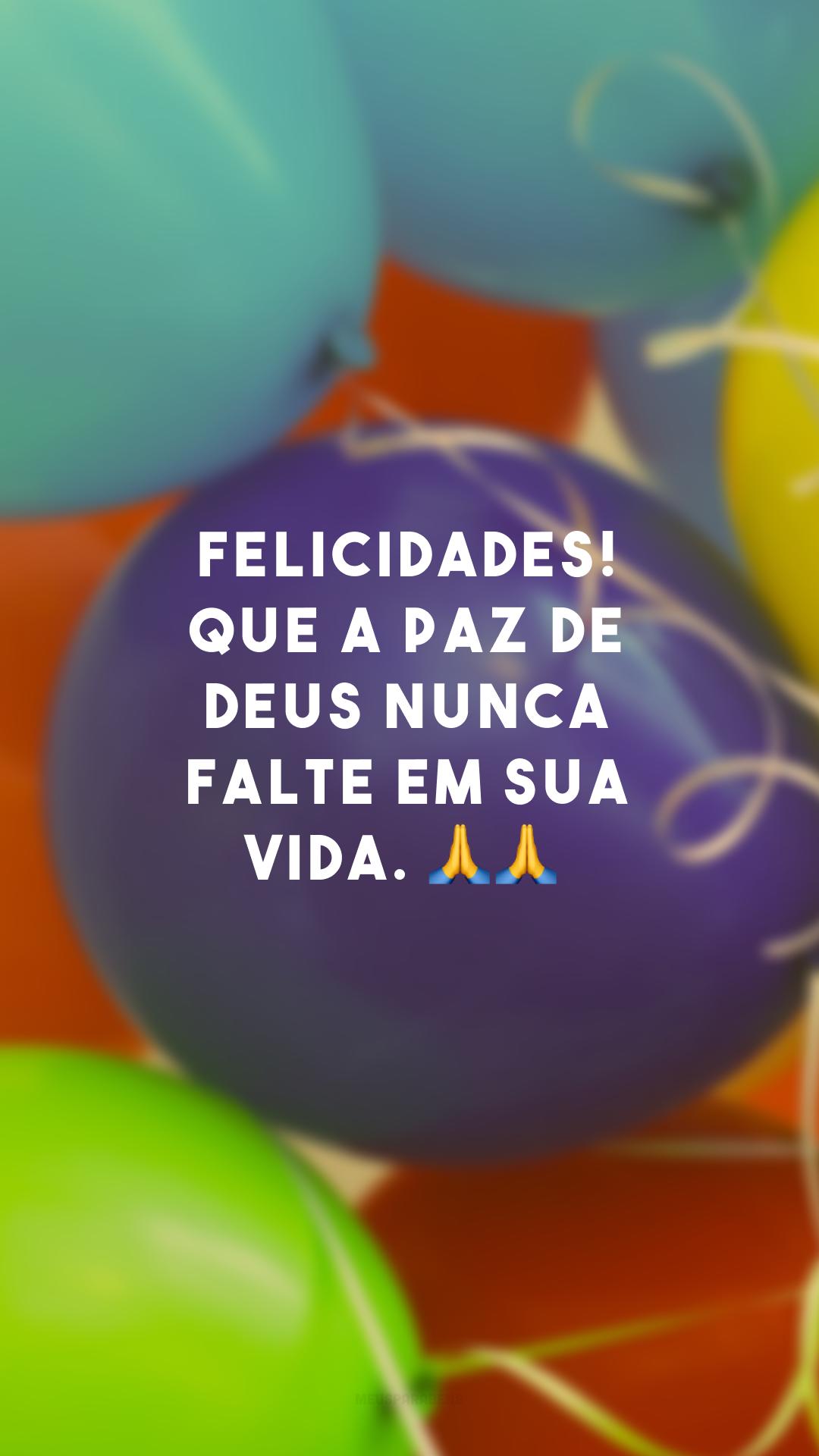 Felicidades! Que a paz de Deus nunca falte em sua vida. 🙏🙏<br />