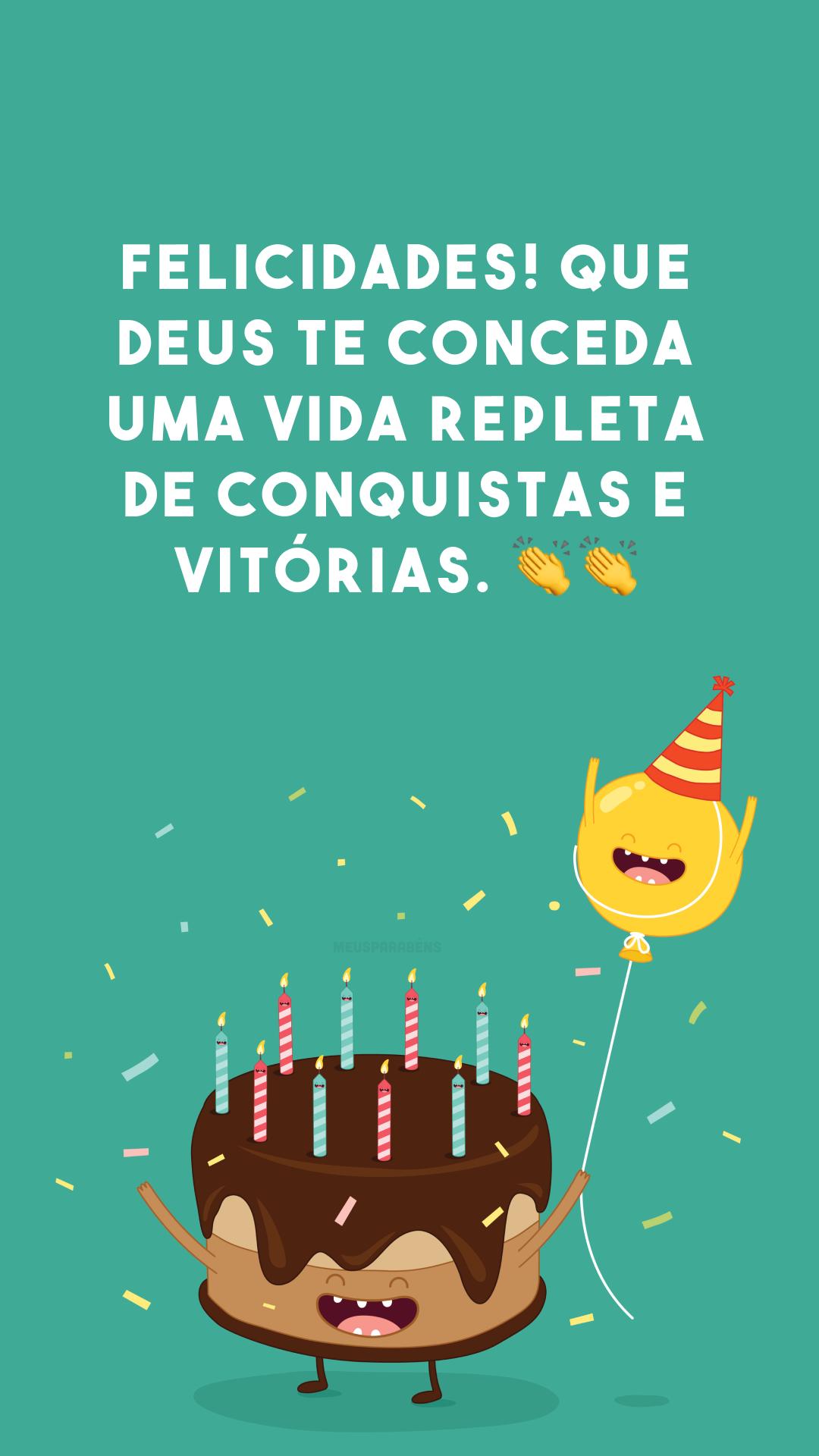 Felicidades! Que Deus te conceda uma vida repleta de conquistas e vitórias. ??