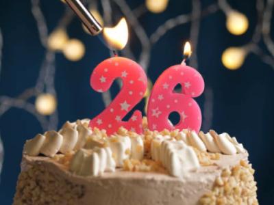 30 frases de aniversário de 26 anos para comemorar o novo ciclo