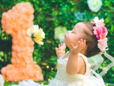 40 frases de aniversário para filha de 1 ano que está crescendo rápido